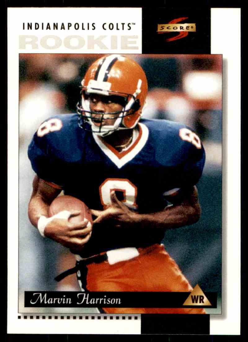 1996 Score Rookie Marvin Harrison 230 On Kronozio
