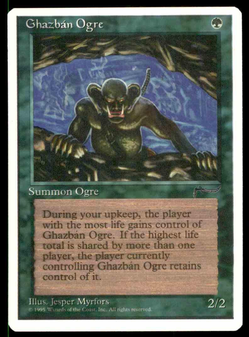 5th Edition 4x Ghazban Ogre