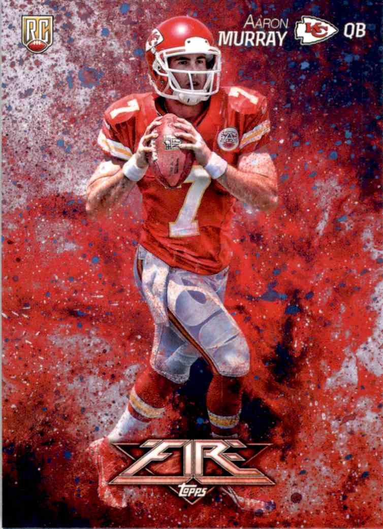 2014 Topps Fire Aaron Murray RC #121 card front image