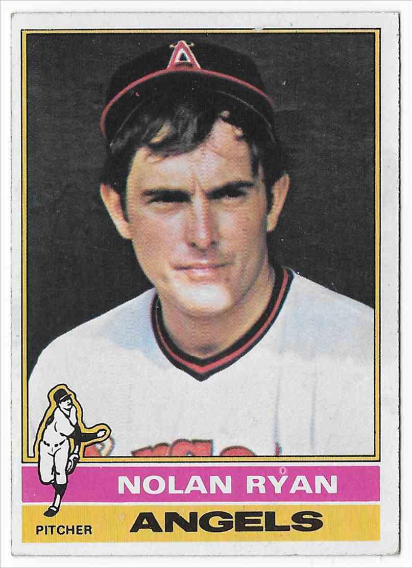 1976 Topps Nolan Ryan #330 card front image