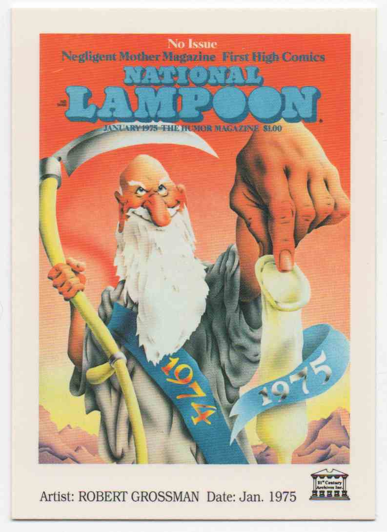 1993 National Lampoon January 1975 #45 card front image