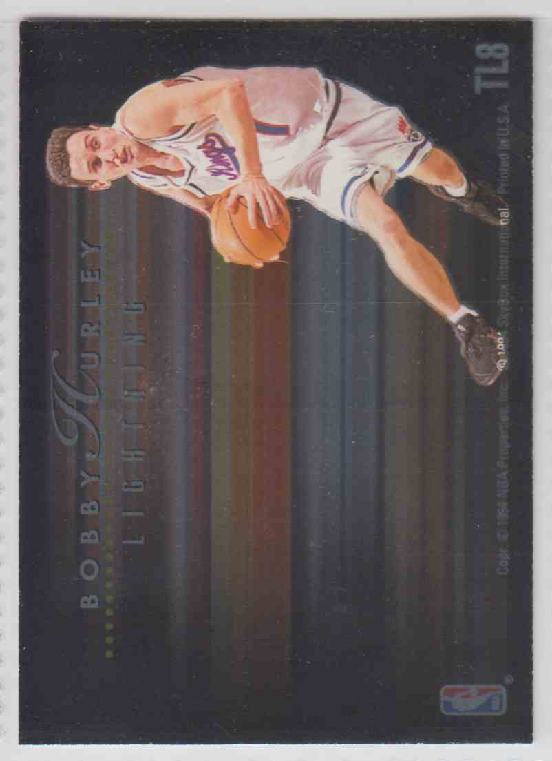 1994-95 Skybox Walt Williams/Bobby Hurley #TL8 card back image