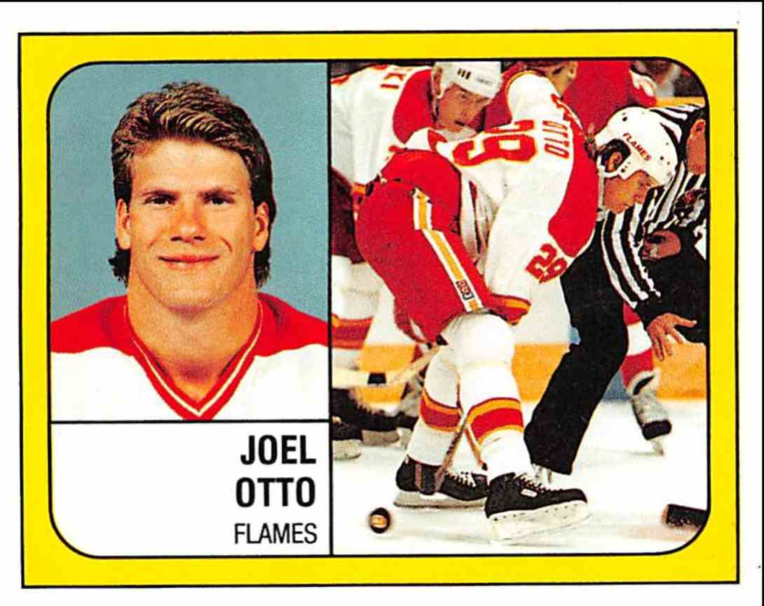 1988 89 Panini Stickers Joel Otto 13 On Kronozio