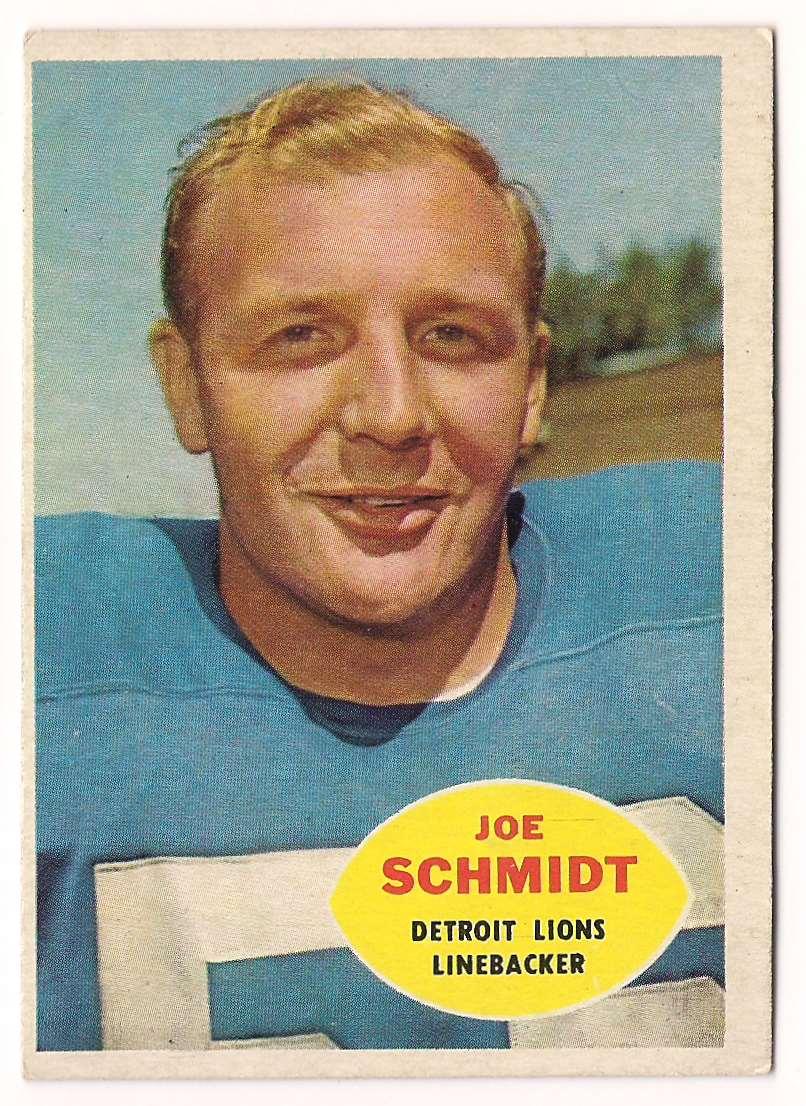 1960 Topps Joe Schmidt #46 card front image