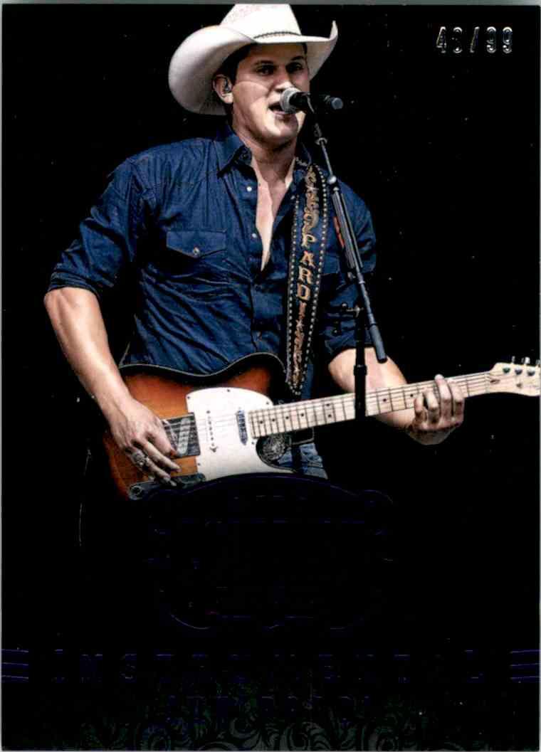 2015 Country Music Instrumentals Purple Jon Pardi #9 card front image