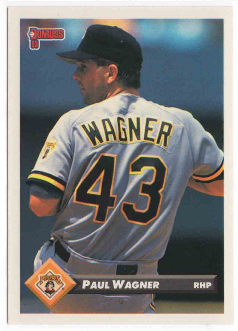 1993 Donruss Paul Wagner #334 card front image