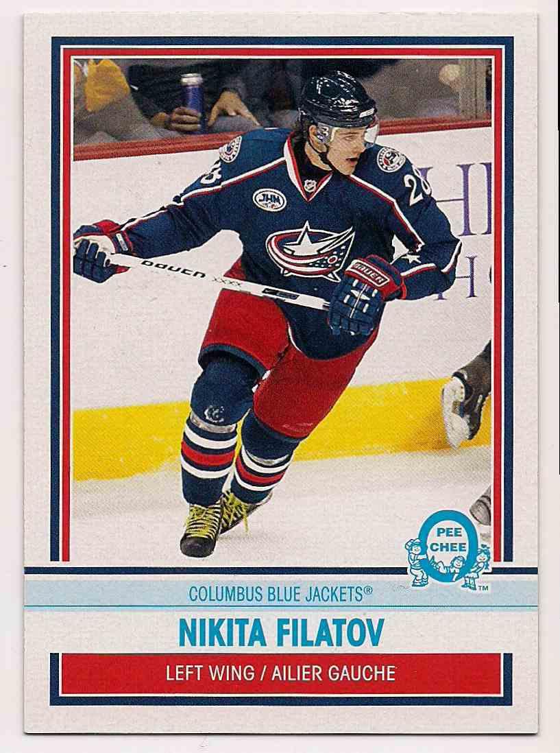 2009-10 0-Pee-Chee Retro Nikita Filatov #177 card front image
