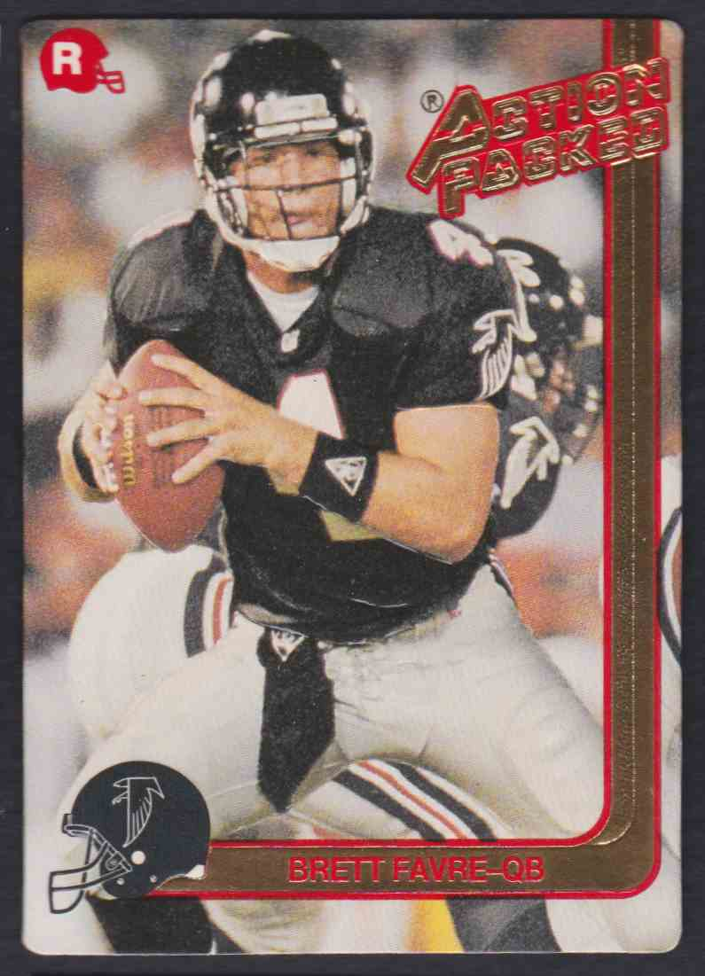 1991 Action Packed Brett Favre #21 card front image