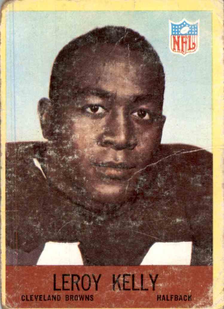 1967 Philadelphia Leroy Kelly #43 card front image