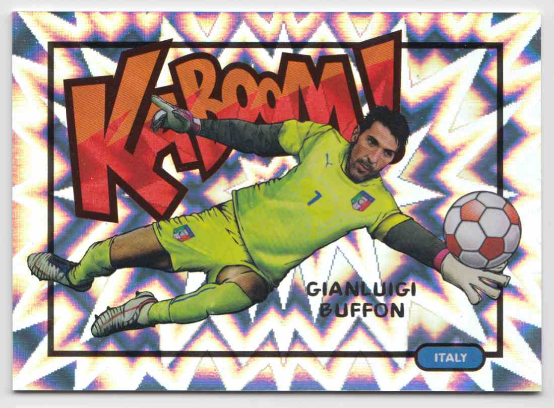 2017 Panini Select Kaboom! Case Hit Gianluigi Buffon #8 card front image