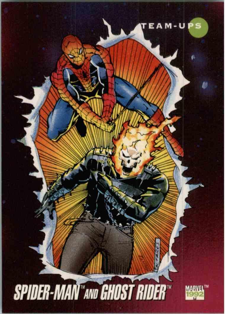 1992 Marvel Spider-Man And Ghost Rider #72 on Kronozio