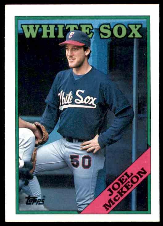 1988 Topps Joel McKeon #409 card front image