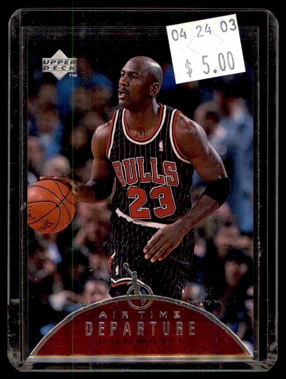 91871db7708761 36 Upper Deck Jordan Air Time trading cards for sale