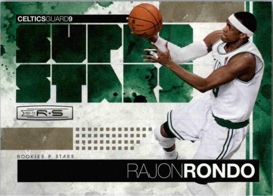 2010-11 Panini Rajon Rondo #11 card front image