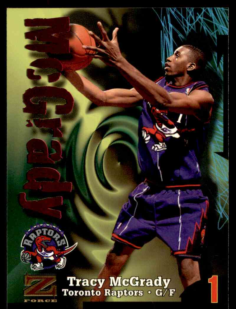 1997-98 Skybox Z Force Tracy Mcgrady #172 card front image