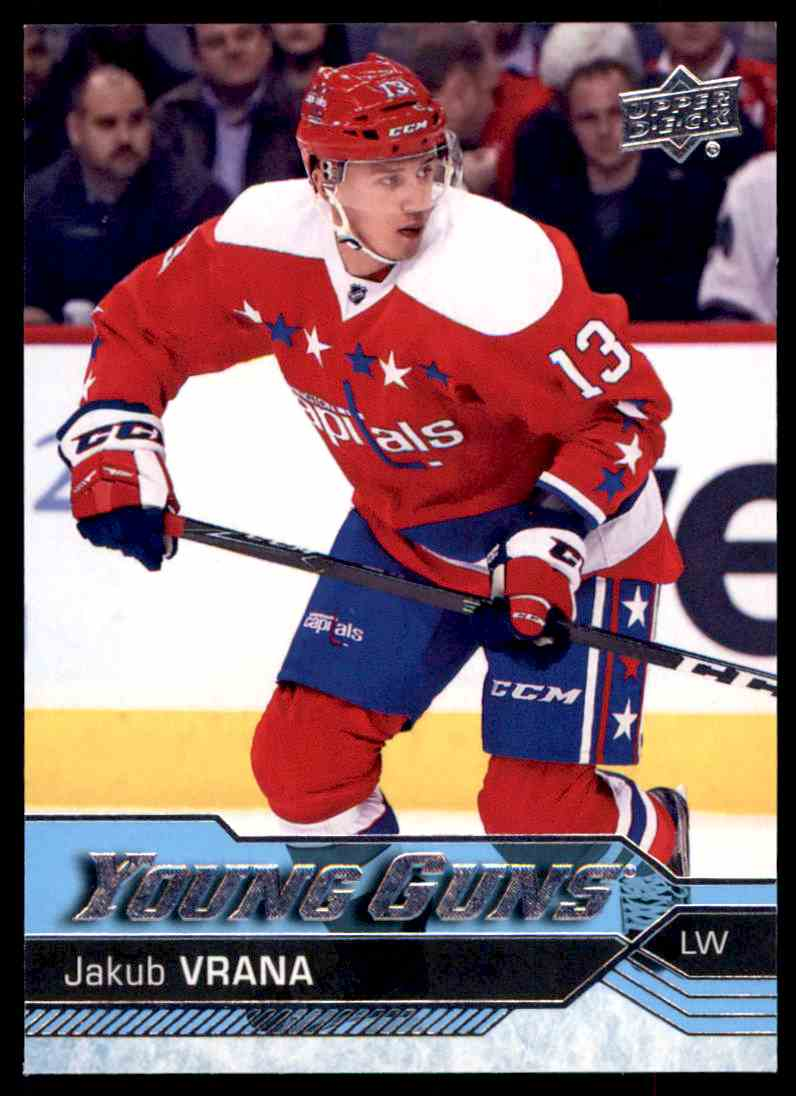 best service b214e c113c 2016-17 Upper Deck Update Young Guns Jakub Vrana ...