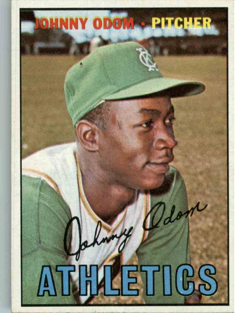 1967 Topps Johnny Odom #282 card front image