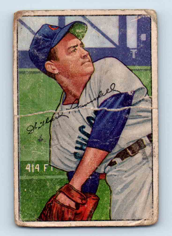 1952 Bowman Willard Ramsdell #22 card front image
