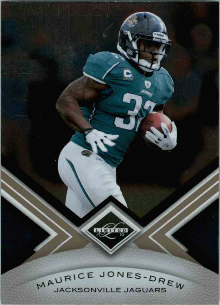 2010 Leaf Limited Maurice Jones-Drew #46 card front image
