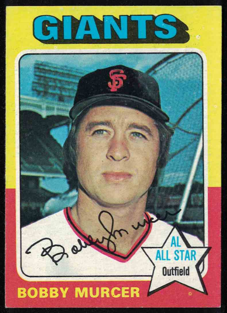 1975 Topps Bobby Murcer Nm+ #350 card front image