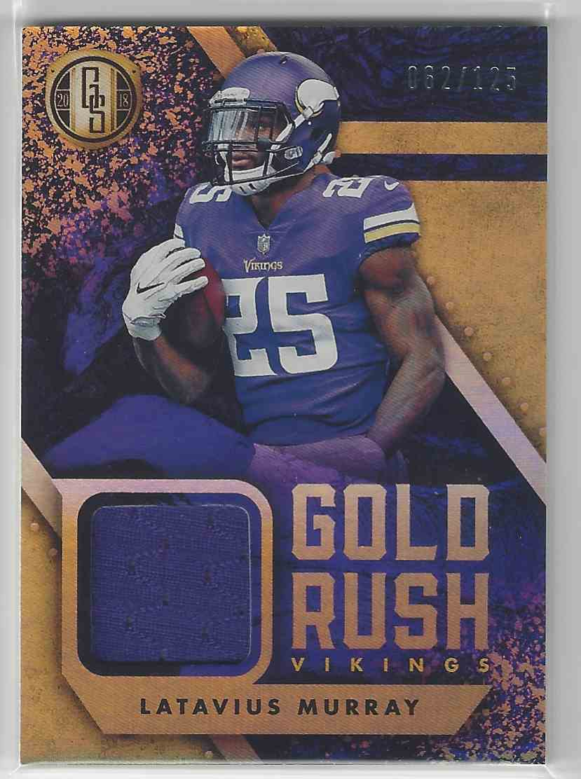 detailed look cd311 7e2fd 2018 Gold Standard Gold Rush Jersey Lataviua Murray 62/125!!
