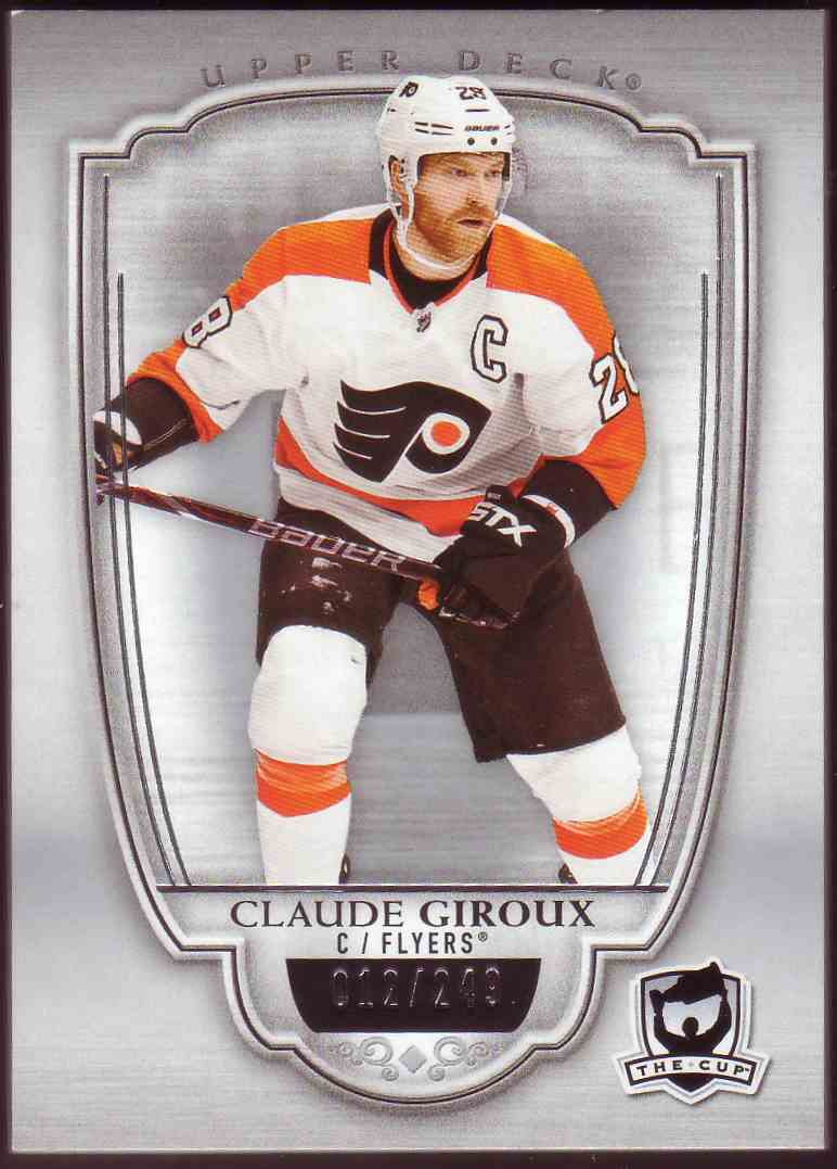 2018-19 Upper Deck The Cup Claude Giroux #42 card front image