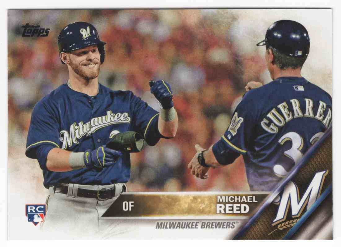 2016 Topps Michael Reed #538 card front image