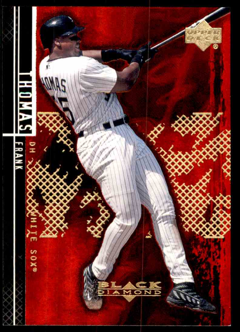 2000 Upper Deck Black Diamond Rookie Edition Frank