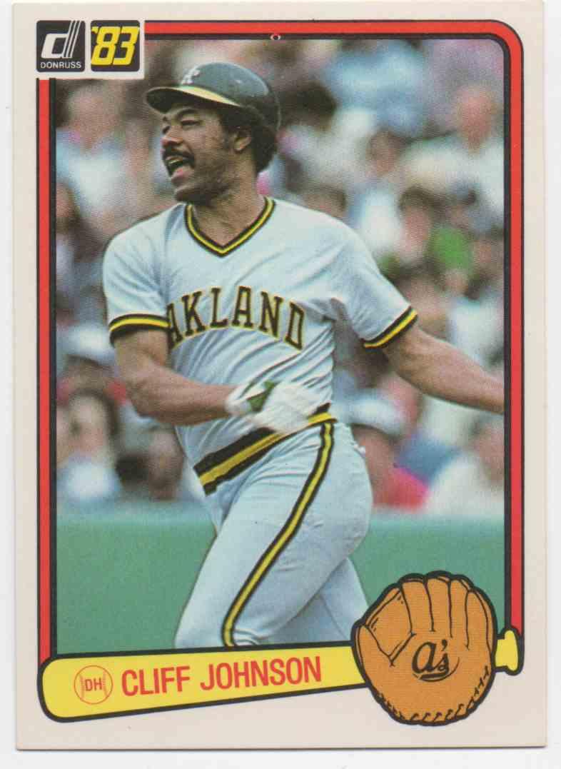 1983 Donruss Cliff Johnson 601 On Kronozio