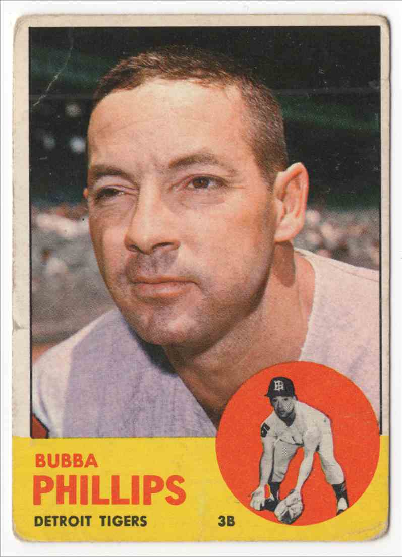 1963 Topps Bubba Phillips #177 card front image
