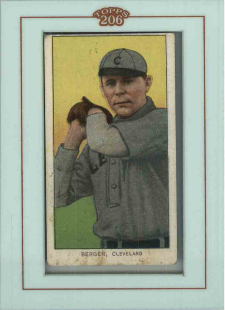2002 Topps 206 Heinie Berger #6 card front image