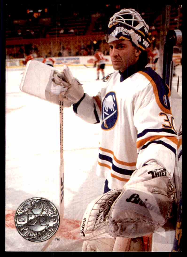 1992 93 Pro Set Platinum Clint Malarchuk 159 On Kronozio
