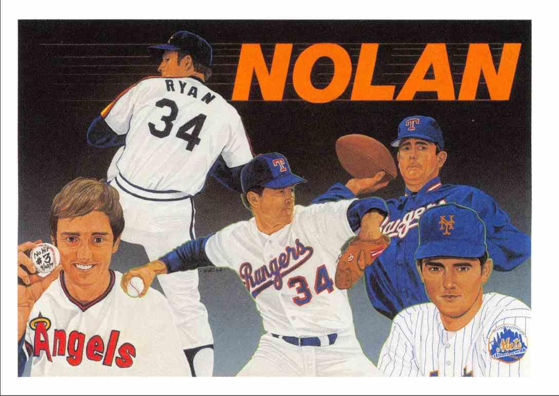 1991 Upper Deck Baseball Heroes Checklist Nolan Ryan 18