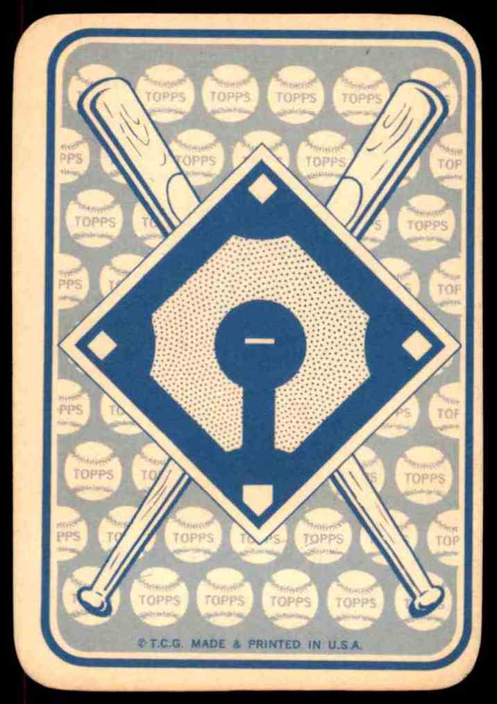 1968 Topps Game Tony Gonzalez #20 card back image