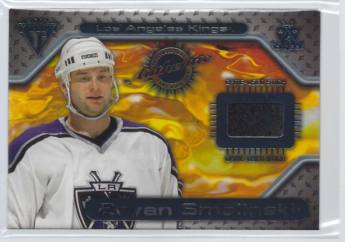 2000-01 Titanium Game Gear Bryan Smolinski #24 card front image