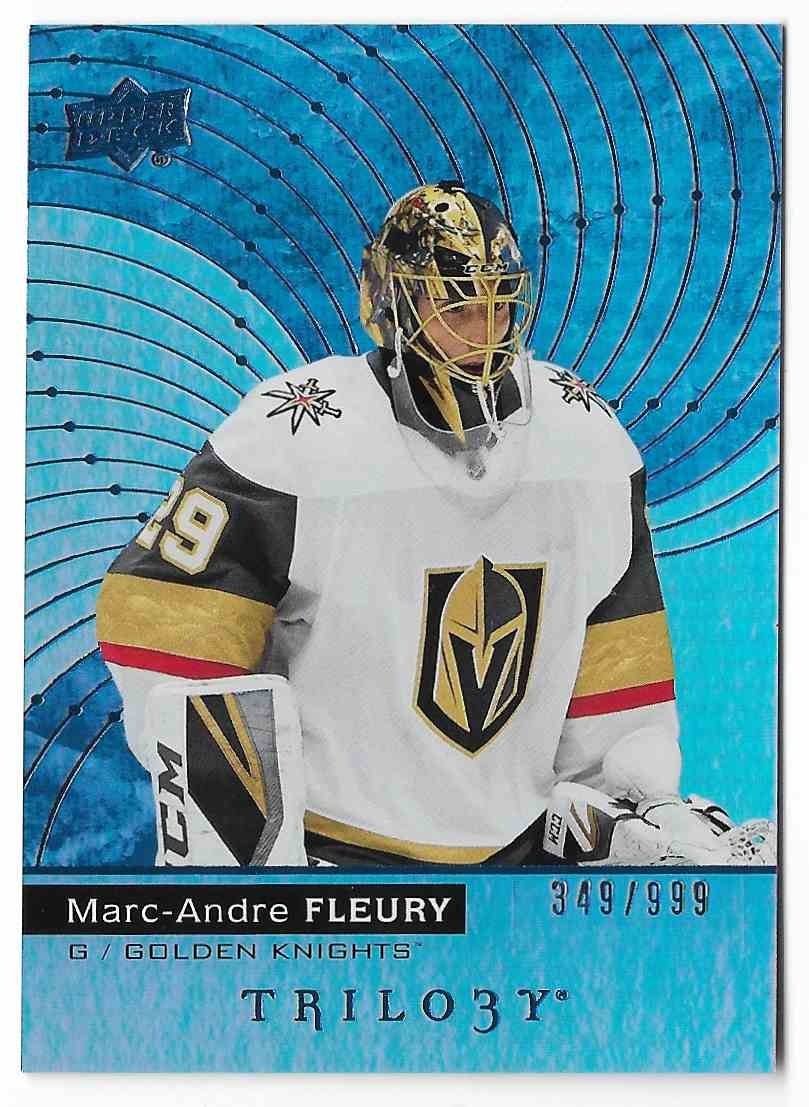 2017-18 Upper Deck Trilogy Marc-Andre Fleury #31 card front image