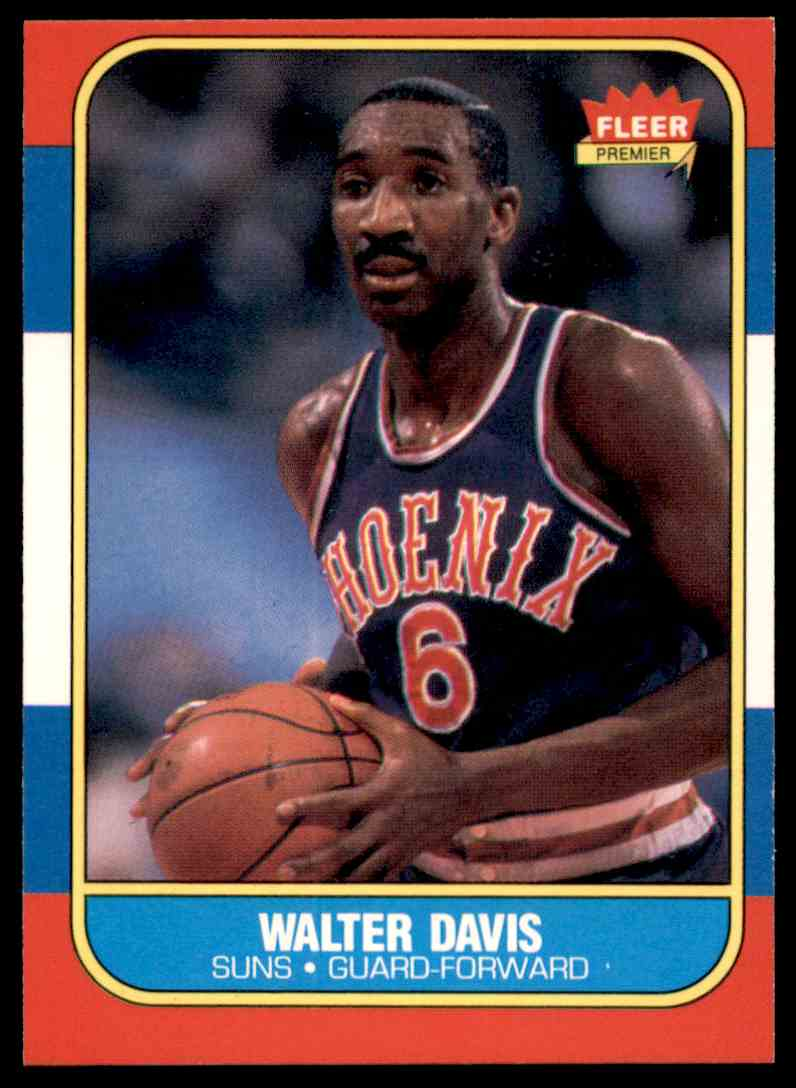 158 Walter Davis trading cards for sale