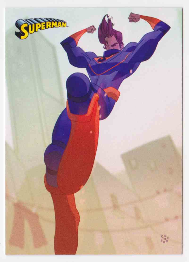 2013 Superman Cryptozoic Superman #40 card front image