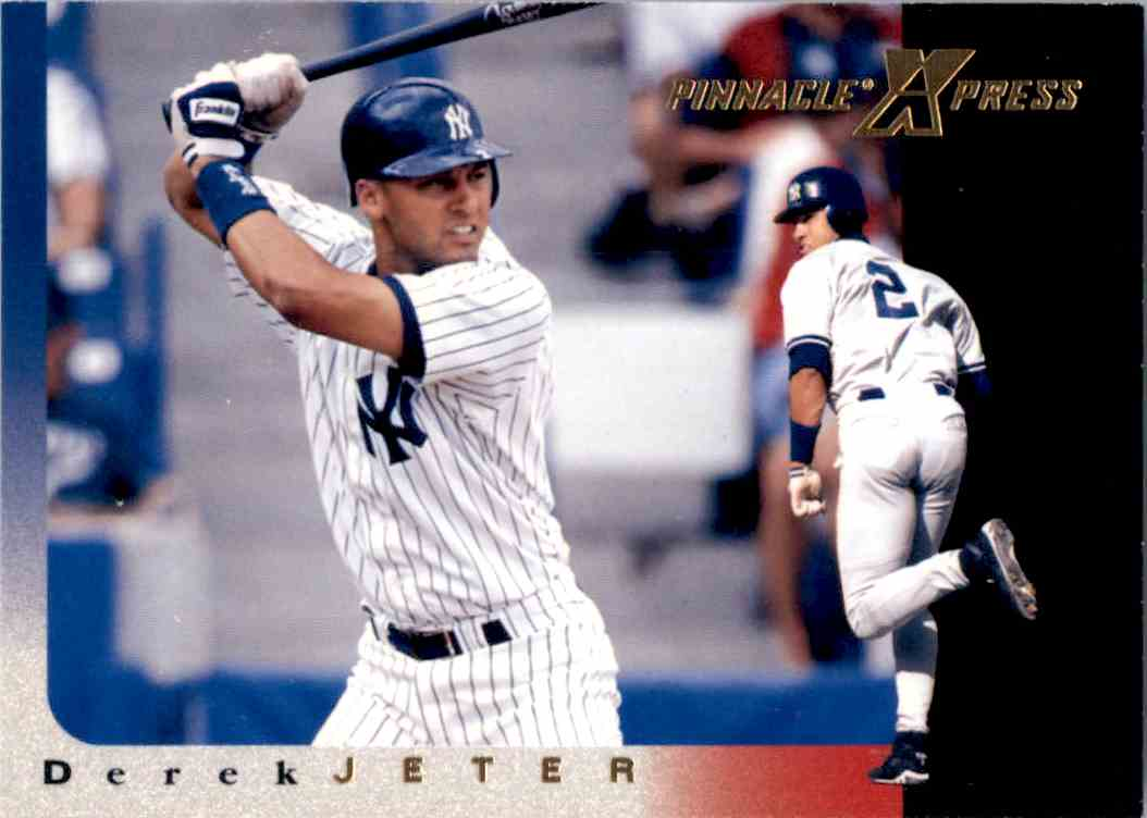 1997 Pinnacle Xpress Derek Jeter 32 On Kronozio