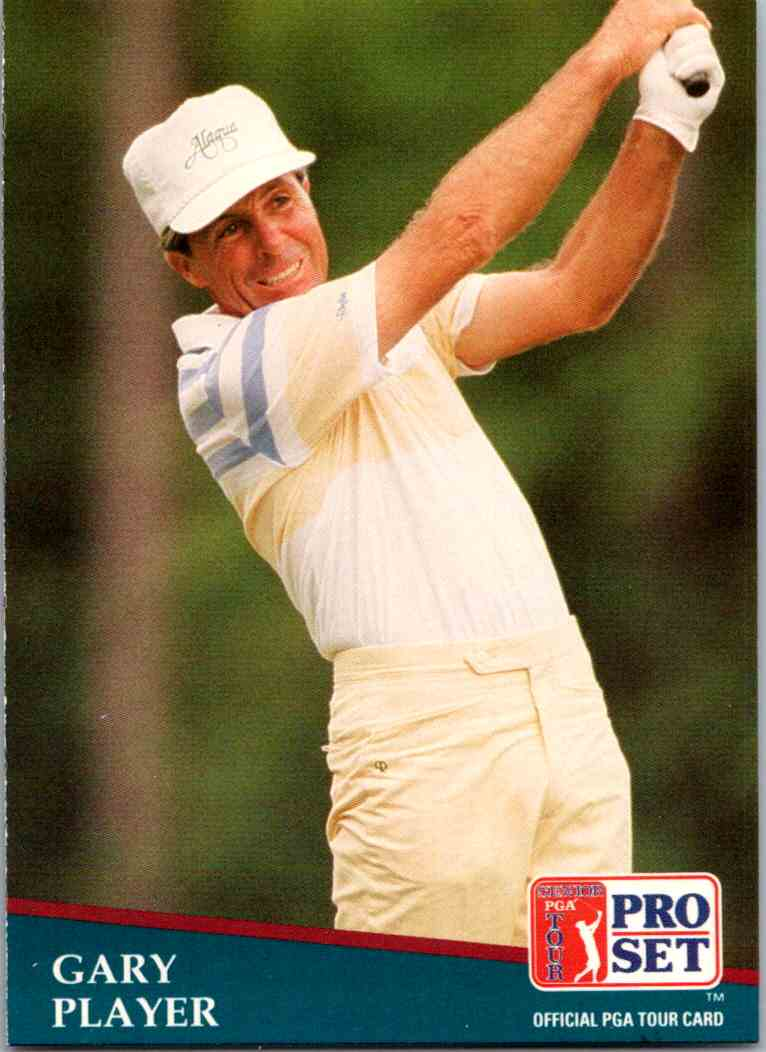 1991 Pro Set Gary PLayer #194 card front image
