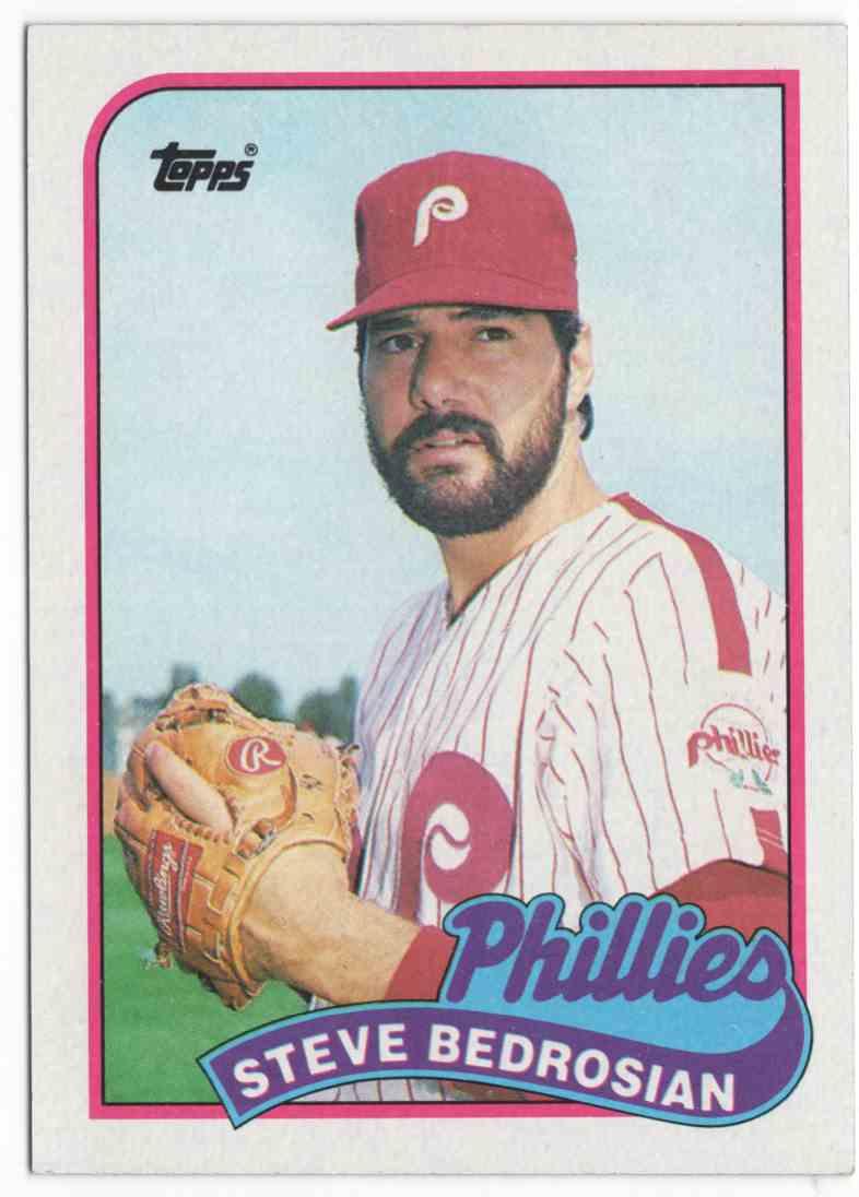 1989 Topps Steve Bedrosian #20 card front image