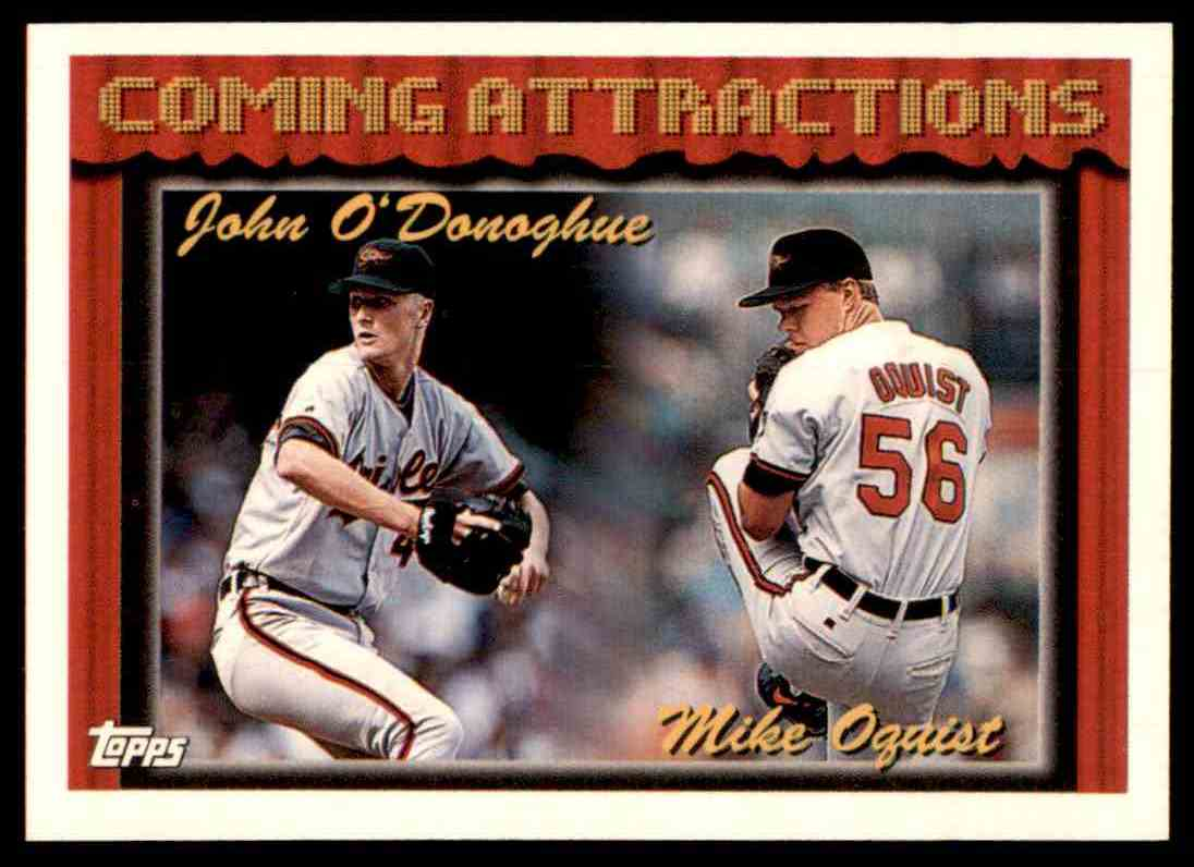 1994 Topps J.O'donoghue/M.Oquist #763 card front image