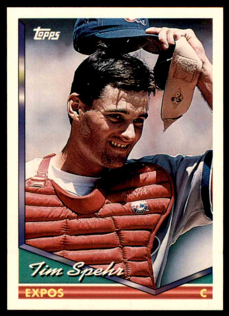 1994 Topps Tim Spehr #714 card front image