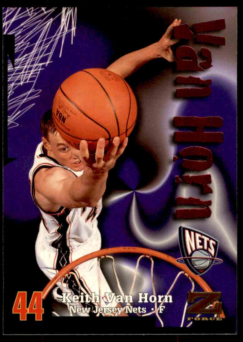 1997-98 Skybox Z Force Keith Van Horn #125 card front image