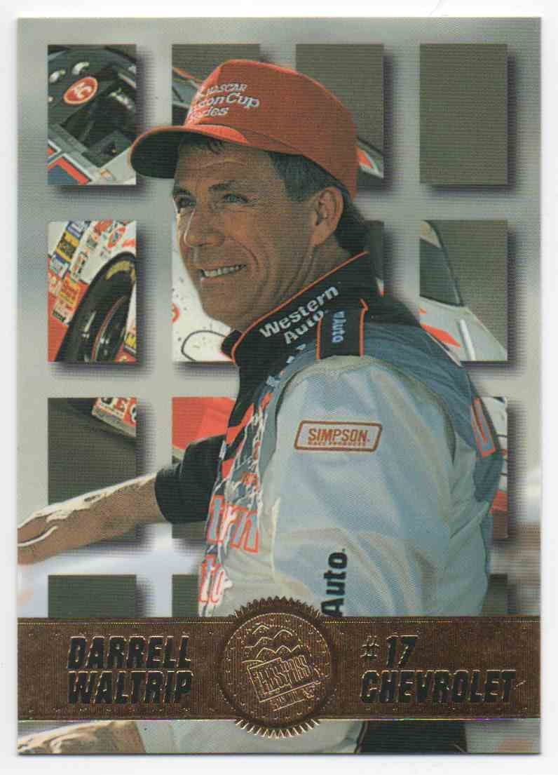 1995 Press Pass Darrell Waltrip #9 card front image