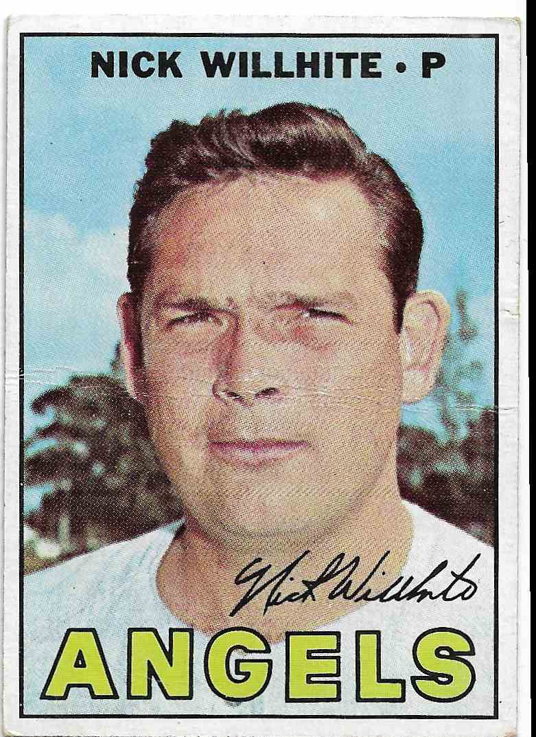 1967 Topps Nick Willhite #249 card front image