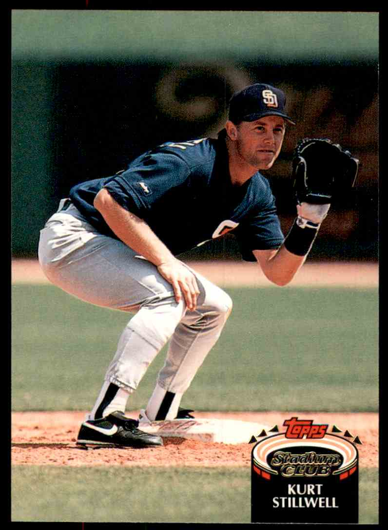 1992 Stadium Club Kurt Stillwell #650 card front image