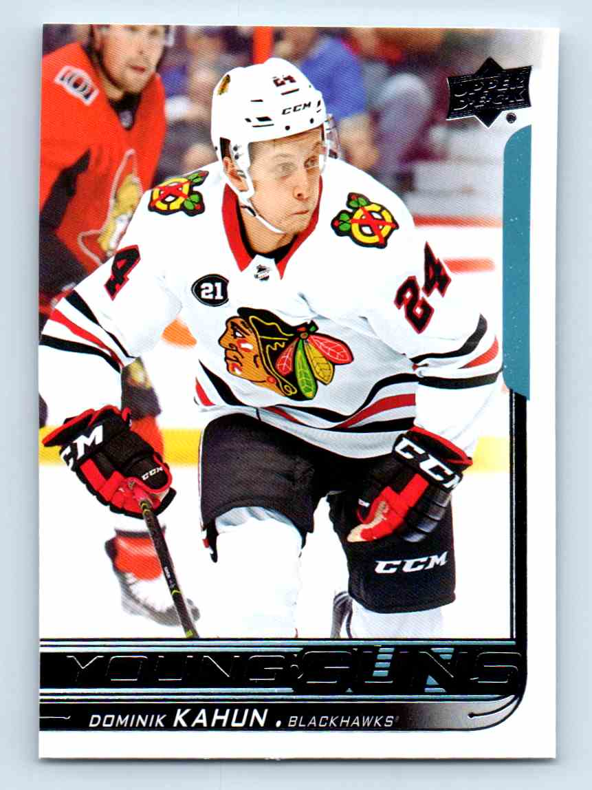 2018-19 Upper Deck Young Guns Dominik Kahun #232 card front image