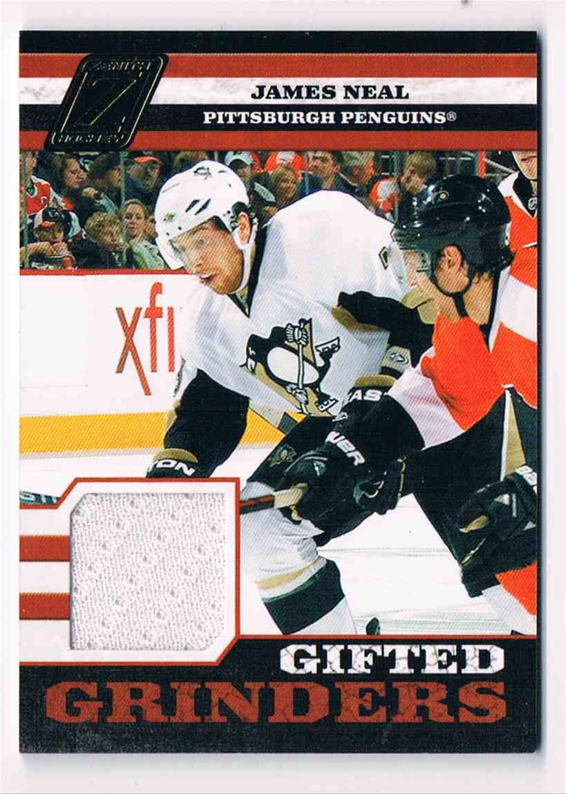 2010-11 Panini Zenith Gifted Grinders James Neal #11 card front image