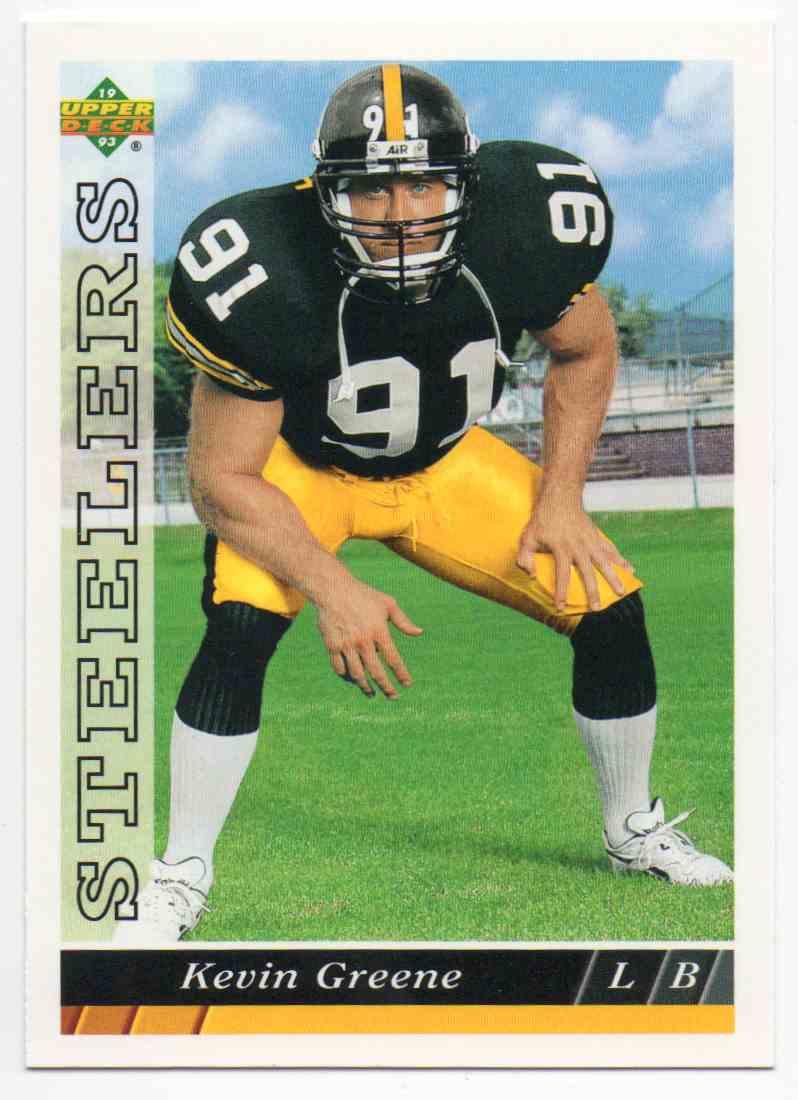 1993 Upper Deck Kevin Greene #518 card front image